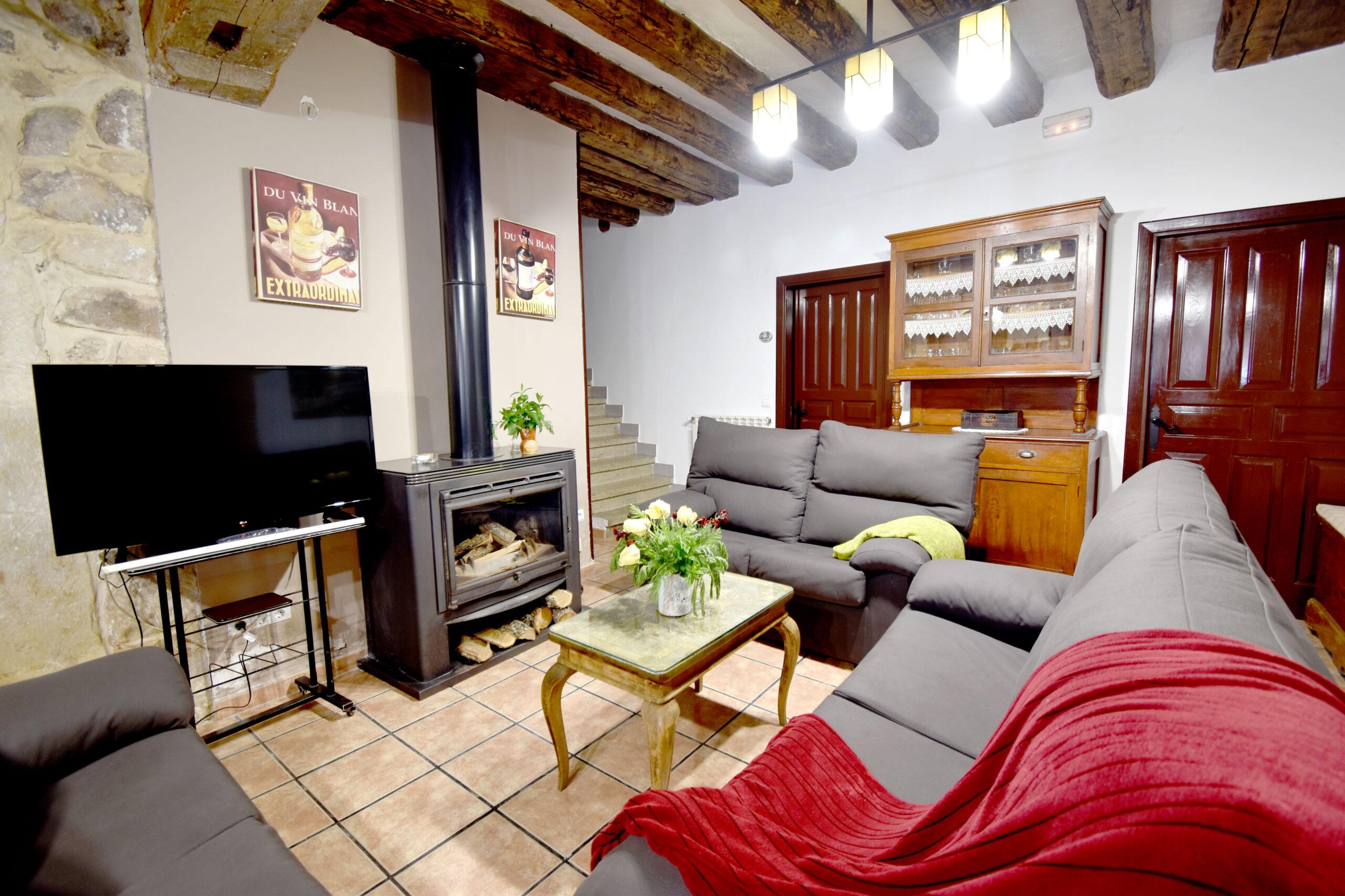 Casa Rural El Último Carretero - Soria- Salón/comedor